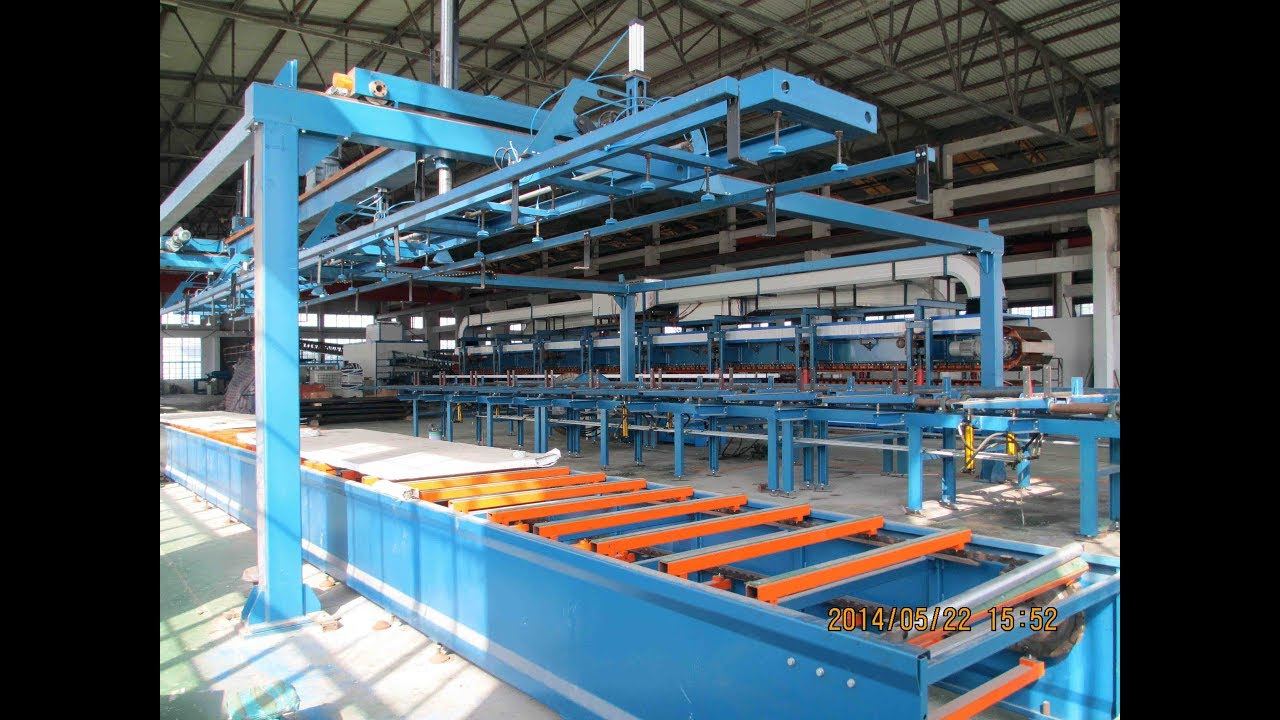 Stacking Machine for Sandwich Panel Line