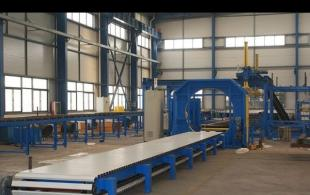 Wrapping Machine for Sandwich Panel Machine