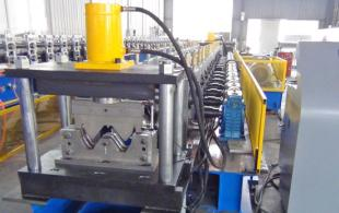 Three Beam Highway Guardrail Machine