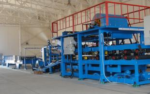 EPS Sandwich Panel Production Line (Roof Panel)