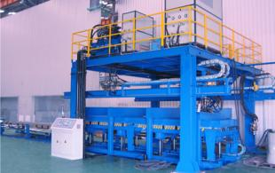 Dis-continuous PU Sandwich Panel Machine