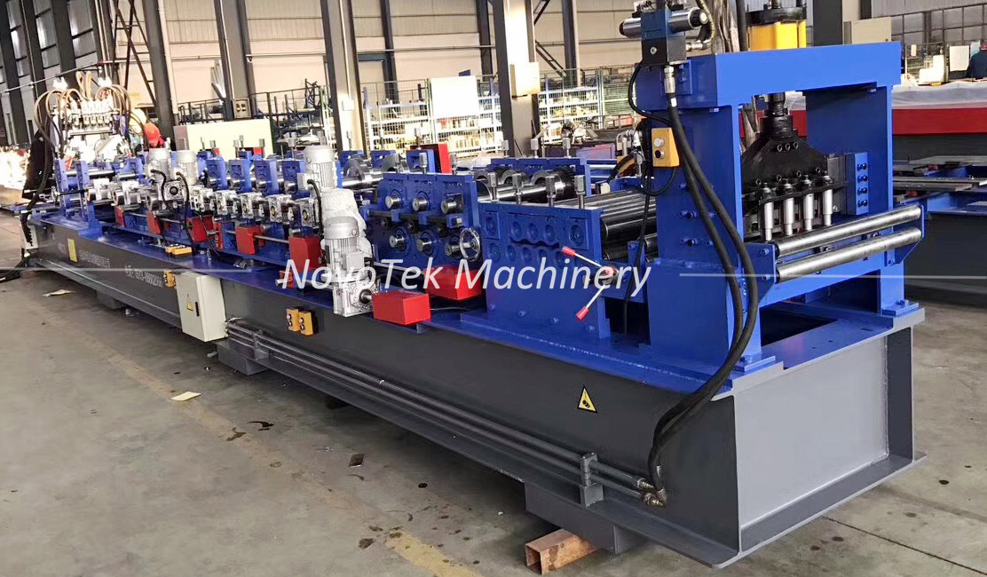 Fully Automatic CZ Purlin Interchange Machine