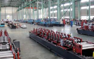 CZ Purlin Roll Forming Machine Workshop